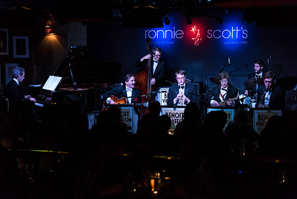 Benoit Viellefon & his Orchestra live at Ronnie Scott's